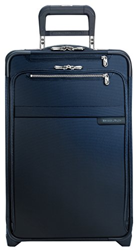 Briggs & Riley Baseline Limited Edition Domestic Carry-On Expandable Upright, 56cm, 55.5 litres, Navy Bagaglio a mano, 56 cm, liters, Blu (Navy)