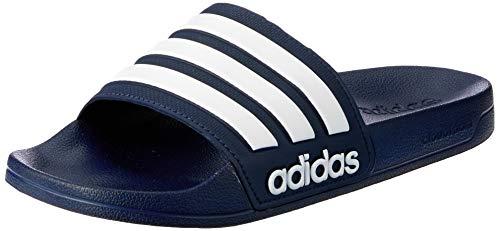 adidas Herren Cf Adilette Dusch-& Badeschuhe, Blau (Collegiate Navy/footwear White/collegiate Navy 0), 44.5 EU