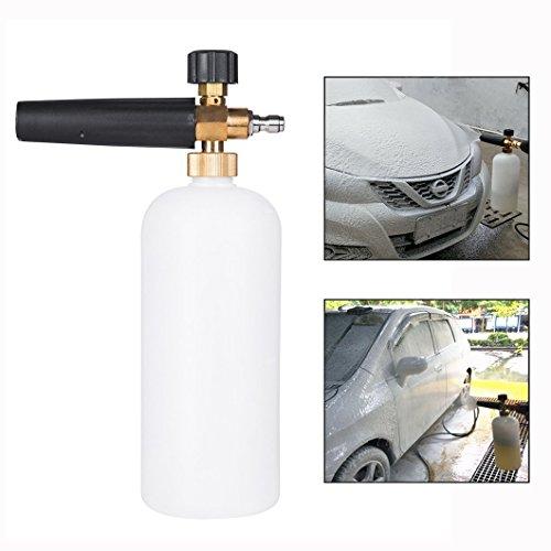Itian Verstellbare Autowäsche Gun,Multifunktional Schaumdüse Für Auto Waschende Reinigungs Werkzeug