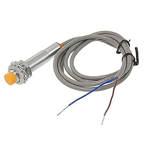 sourcingmap® LJ12A3-4-Z/EX NO 2-wire 4mm capteur de proximité inductif Switch DC 6-36V