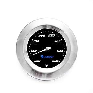 Termómetro de la Parrilla Termómetro 450 °C analógico Ahumador Parrilla de la Parrilla Superficies de la Parrilla…