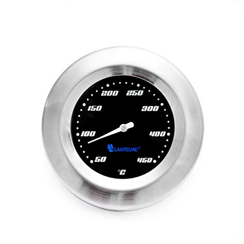 Termometro per Grill/Smoker/forno/grill carrello. Analog/Bimetall/acciaio inossidabile. BBQ Grill di modello Lantelme Racing Black Edition