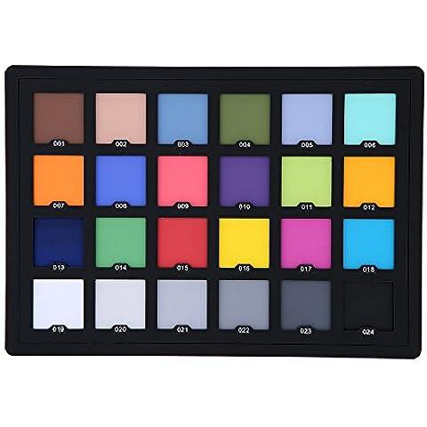 syalex (TM) professionale 24colori di prova per la correzione superiore digitale a colori Photo Studio Accessori