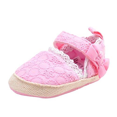 Chaussures Bébé,Fulltime® Bébé Flower Sandals Toddler souple Sole Sneakers Souliers Rose