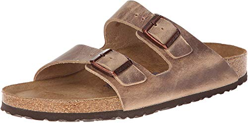 Arizona, scarpe unisex con 2 cinghie, suola in sughero sandali, taglia da donna 38