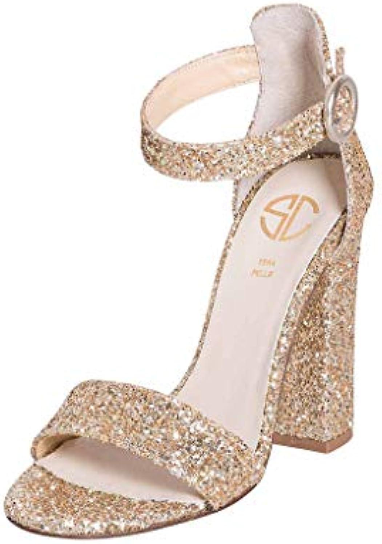 Scarpe da donna on line IN GLITTER PLATINO TAGLIA NUMERO 39 SCARPA SIGNORILE MADE IN ITALY 10CM RGP39 | Moda E Pacchetti Interessanti  | Maschio/Ragazze Scarpa