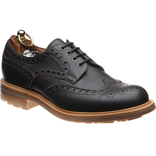 Herring Herring Fermyn, Chaussures de ville à lacets pour homme marron Brown Deerskin