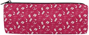 Malplena Trousse Trousse Trousse ronde pour stylo et maquillage Motif roses Rouge | De Nouvelles Variétés Sont Introduites L'une Après L'autre  504c9c