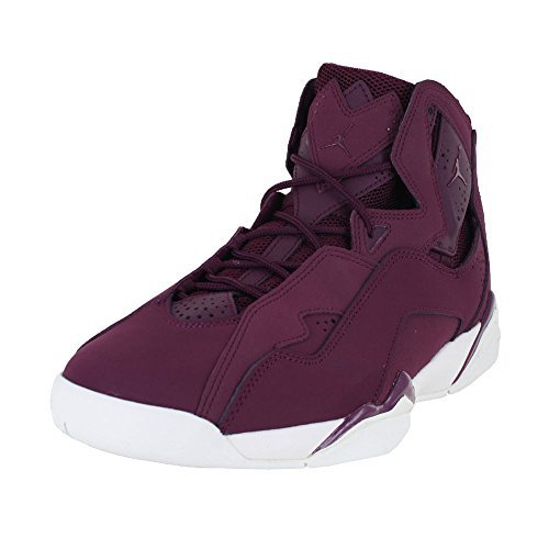 Jordan Men's True Flight Basketball Shoe, Bordeaux/Bordeaux-Sail 11 (Jordan 97 Flight Air)