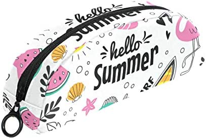 Summer EleHommes ts Flamingos Flamingos Flamingos Trousse Pochette Sac Fermeture Éclair Petit sac de maquillage pour enfants Fille ado garçon l'école papeterie B07HRM2Y2X | Authentique  c1aea8