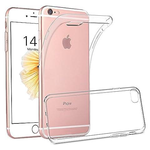 Coque iPhone 6/6s , ONSON® Silicone Gel Etui iPhone 6s Antichoc Housse iPhone 6 Transparente Souple Coque de Protection Pour Apple iPhone 6/6s
