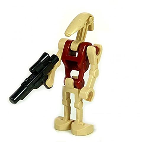 LEGO Star Wars Minifigure Security Battle Droid Dark Red and