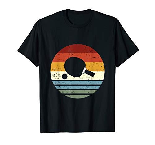 Cooles Vintage Retro Tischtennis Tshirt für Männer & Frauen