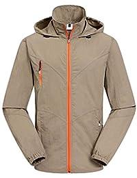 Hibasing Camisa con Capucha para Hombre Impermeable del Alpinismo