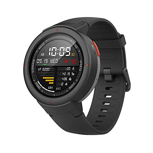 (Renewed) Amazfit Verge IP68 Smart Watch (Gray)