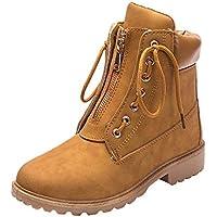 GiveKoiu Scarpe Basse Donna Stivali Classici Donna Stivaletti Sneakers  Pelliccia Allineato Autunno Inverno Caloroso Scarponcini Trekking 85898905278