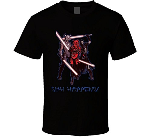 Delifhted Darth Krayt Talon Star Wars Sith Happens T Shirt (Star Wars Darth Talon)