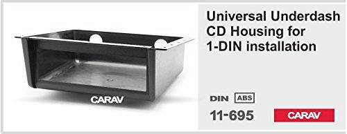 carav 11-695 DIN Autoradio 1-DIN Halterung Unterbau Montage für PKW LKW BOOT