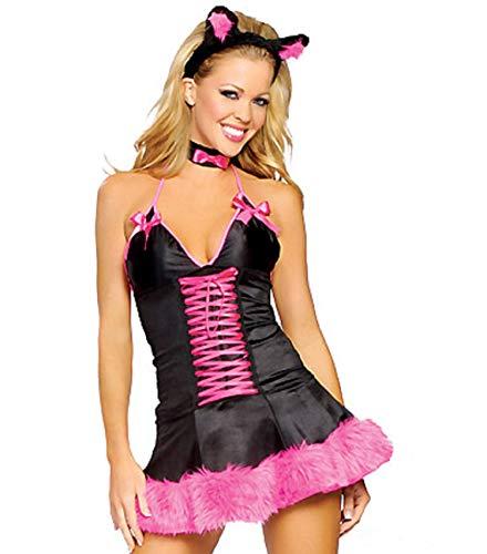 Cat Kostüm Pussy - Top Totty Pink Pussy Cat Costume TL8308 (6-8)