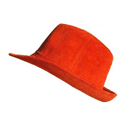 Bonnet Company - Chapeau Borsalino Rouge - Unique