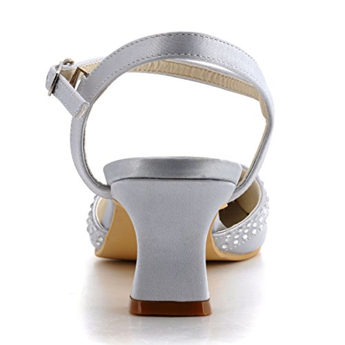 Elegantpark, Scarpe col tacco donna Argento