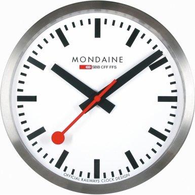 Mondaine Swiss Railways Wall Clock