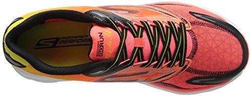 Skechers - Go Run Ride 4, Scarpe da corsa Uomo Arancione (Orange (Orbk))