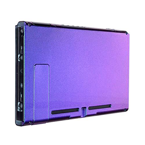 eXtremeRate Soft Touch Grip Backplate für Nintendo Switch Console, NS  Joycon Handheld-Controller-Gehäuse mit kompletten Tasten, DIY Ersatz Shell  für