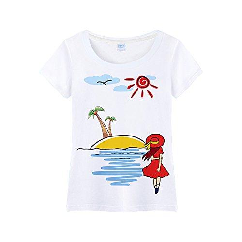 hai hai Kurze Hose Paare Strand Hosen Strand Setzt Ferien Männer Und Frauen Sommer Schnell Trocknende Plus Fruchtbarkeit Xl Lose Dünne Hose, Xxl, Fantasy Island (Ms. T-Shirts) (Fruchtbarkeit Shirts)