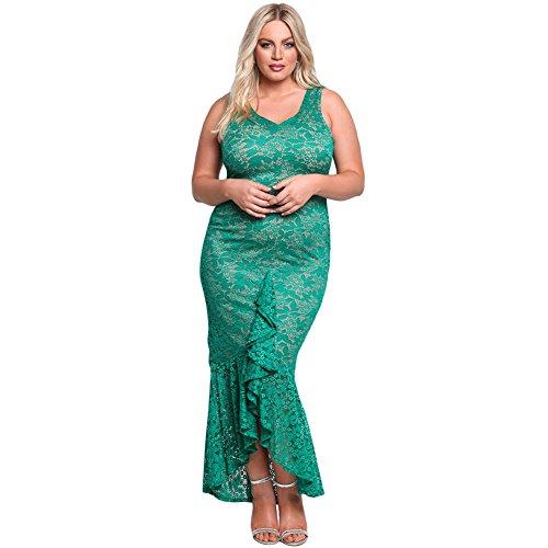 MEI&S Damen Sleeveless Partei formelle Kleidung Große Größe online ...