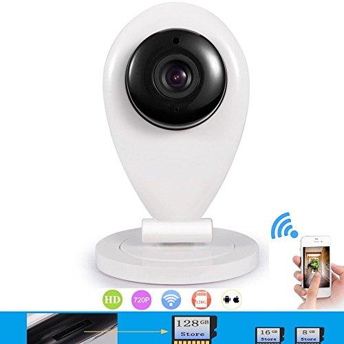 Dobo® telecamera hd di sorveglianza wireless wifi con visore notturno rilevatore di movimento e suono bidirezionale permette di ascoltare e parlare nella stanza dove viene posizionata