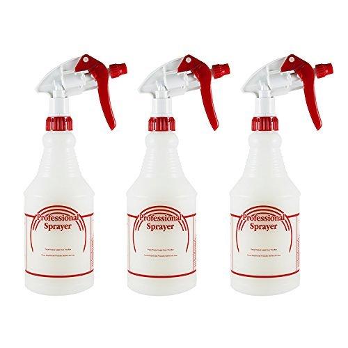Houseables Sprühflasche Reiniger Packung mit 3-24 Unzen klar