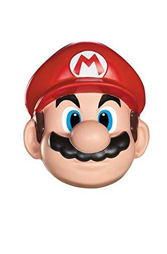 Unbekannt Super Mario 13383–Maske Mario, Rot, Einheitsgröße