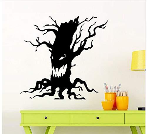 Diy Happy Halloween Scary Baum Wandaufkleber Fenster Dekoration Aufkleber Dekor Wand Fenster Glas Aufkleber Home Room Decor Aufkleber