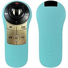 LG AN-MR400remoto caso Sikai Portective caso de silicona para LG AN-MR400Magic Motion Remote golpes kids-friendly lavable a prueba de polvo anti-lost con correa de mano