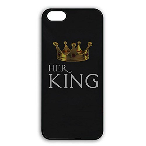 Iphone 7 Case,Personality Prime King Queen Crown Couple Phone Case Cover for Iphone 7 Best Friends Boyfriend Girlfriend Lovers Shell Cover Color006d