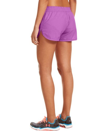 Under Armour Women's Running Trousers, Exotic Bloom/Exotic Bloom/Open Purple