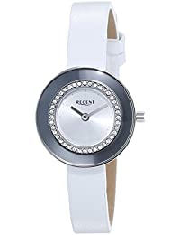 Regent Damen-Armbanduhr XS Analog Quarz Leder 12111121