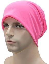 Yogogo Unisexe Femmes Hommes Knit Ski Crochet Slouchy Hat Cap Beanie Hip-Hop Hat Solid