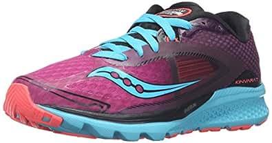 Saucony Women's Kinvara 7 Women's Footwear, Pink/Purple/Blue, 5.5 UK