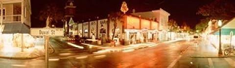 Panoramic Images – Sloppy Joe's Bar Duval Street Key West Florida USA Photo Print (38.10 x 12.70