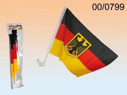 Preisvergleich Produktbild Deutschlandfahne Auto 2 Stück