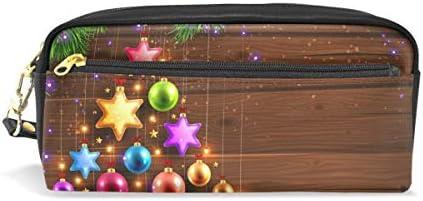 Ahomy trousses pour filles et garçons, boules boules boules de Noël Décoration étoile Pen Sac papeterie Maquillage Pouch Sac à main Grande capacité étanche pour femme B07HMZ4XNX | Stocker  855953