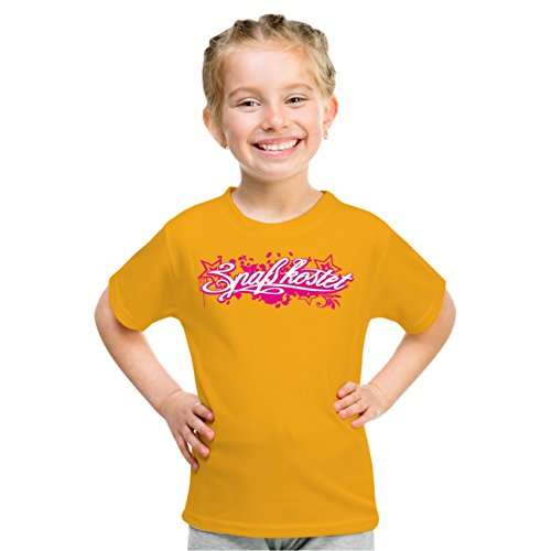 Kinder T-Shirt Spaß Kostet Pink Star Gelb