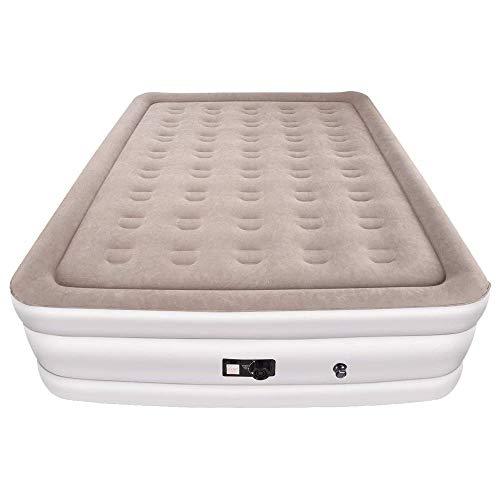 XDT Im Freien Beflockung Luftbett Dicke Luftmatratze eingebaute Pumpe zur Erhöhung der Verdickung hohen Bett