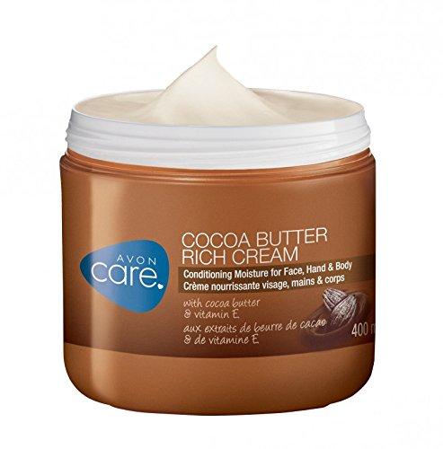 Avon Care Kakaobutter Creme XL Grösse 400 ml Gesicht Körper Hände