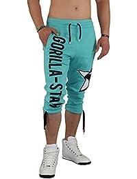 Gorilla-Star Herren Sporthose-Short in ultra angesagtem Style und tollen Farben XS - 4XL