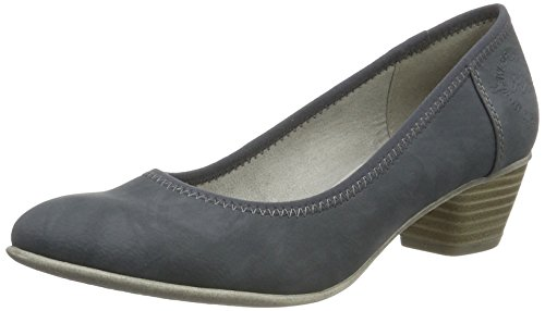 s.Oliver Damen 22301 Pumps, Blau (Denim 802), 39 EU