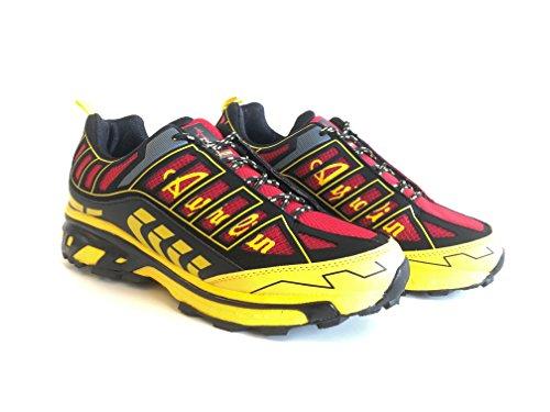 Red black Scarpa AUSTRALIAN AU408 Running Trail Uomo x7xBqXZ