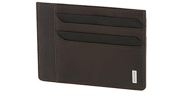 NYX 3 SLG Nero 8 Creditcards Holder Porta carte di credito Black 0 liters 12 cm